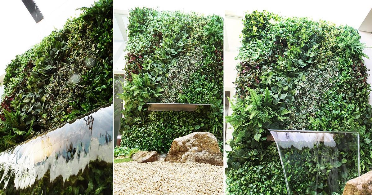 JARDIM de INVERNO - jardim vertical